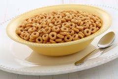 可口和健康蜂蜜坚果谷物 免版税库存图片
