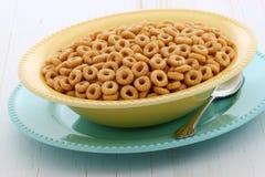 可口和健康蜂蜜坚果谷物 免版税图库摄影