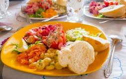 可口和开胃马达加斯加人的素食食物 库存照片