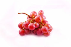 可口和新鲜的红葡萄 库存照片