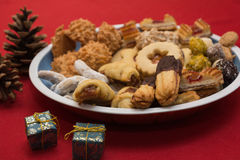 可口圣诞节的曲奇饼 免版税图库摄影