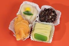 可口日本式甜点食物放松 免版税库存图片