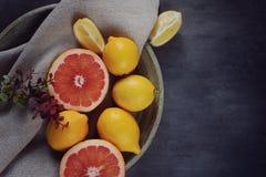 可口柑橘 免版税库存图片