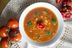 可口汤可口汤,自创,优秀经典美食术 免版税图库摄影