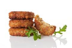 可口沙拉三明治背景。 库存图片