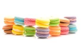 可口法国蛋白杏仁饼干 库存图片