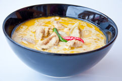 可口泰国食物电话KAENG KHEAW WAN KAI 库存照片