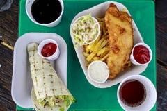 可口海鲜在维多利亚BC 免版税库存图片