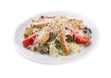 可口牛肉饭食salat 库存照片
