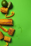 可口玉米 库存照片