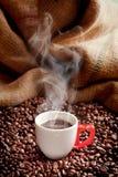 可口的咖啡 免版税图库摄影