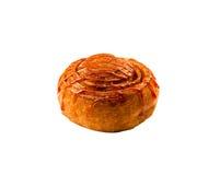 可口的小圆面包 免版税库存照片