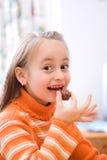 可口的巧克力 免版税库存图片