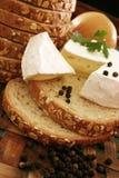 可口的干酪 免版税库存照片