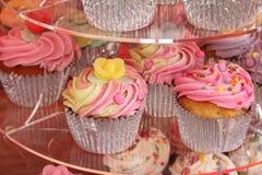 可口的杯形蛋糕 免版税库存图片