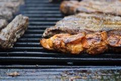 可口的烤肉 免版税库存图片