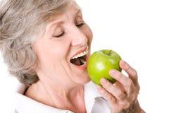 可口的苹果 库存图片