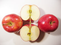 可口的苹果 库存照片