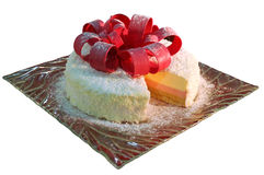 可口的蛋糕 免版税图库摄影