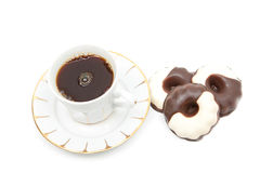 可口的coffe 免版税库存图片