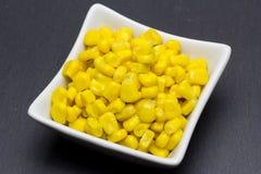 可口罐装甜玉米 库存图片