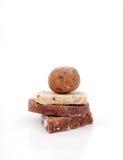 可口自创甜点 库存图片