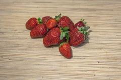 可口草莓 库存图片