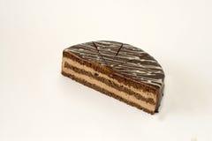可口蛋糕的巧克力 免版税库存照片