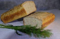 可口面筋自由的米面包 免版税库存照片