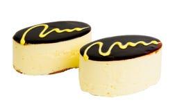 可口饼干的蛋糕 免版税库存图片