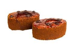 可口饼干的蛋糕 库存图片