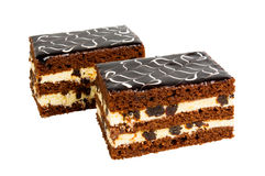 可口饼干蛋糕用修剪 库存图片