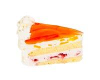 可口饼干蛋糕用芒果 库存照片