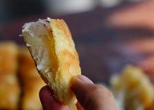 可口鲜美椰子和黏米饭蛋糕 库存照片