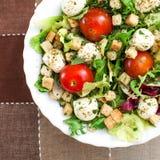 可口素食沙拉 免版税库存图片