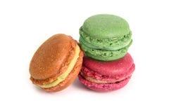 可口Macarons 免版税库存照片