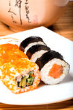 可口maki寿司 免版税图库摄影