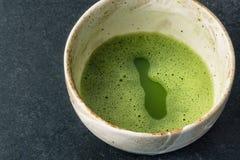可口matcha饮料 免版税库存图片