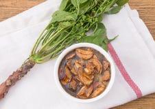 可口Neem泰国食物供食用甜调味汁 库存照片
