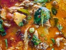 可口Panaeng咖喱用猪肉 & x28; 泰国food& x29; 免版税库存图片