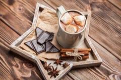 可可粉饮料用蛋白软糖 库存图片