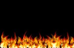 可实现的火向量 库存照片