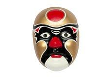 可怕中国面具 免版税库存照片