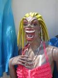 可怕和粗暴的人体模型 图库摄影