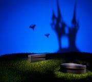 可怕城堡的鬼魂 免版税库存图片