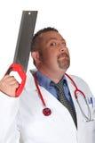 可怕外科医生 免版税库存图片