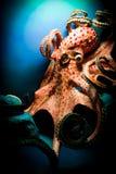 可怕巨型的章鱼 免版税库存图片