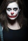 可怕的小丑 库存照片