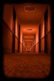 可怕的走廊 库存照片