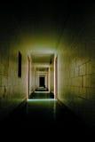 可怕的走廊 库存图片